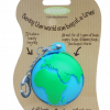 Funky Eco-Friendly KeyChain Bag Dispenser – Globe