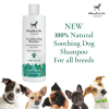 Charlie & Co 100% Natural Soothing Dog Shampoo 400ml